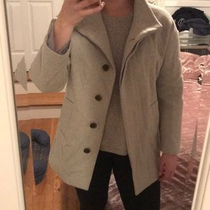 Slick gray J. Crew jacket! No damage